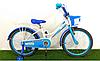 Детский двухколесный велосипед Happy Crosser 4 синий 16 дюймов