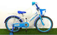 Детский двухколесный велосипед Happy Crosser 4 синий 16 дюймов, фото 1