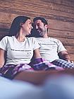 """Парні футболки для закоханих  """"Тобі личить моє кохання"""", фото 4"""