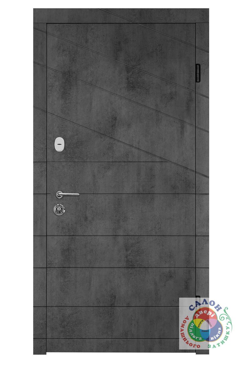 Вхідні двері для вулиці Portala Діагональ 2, серія Елегант