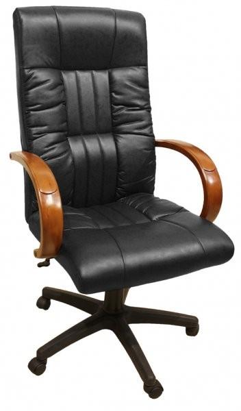 622 b high back black pu pvc hl018 mech amf. Black Bedroom Furniture Sets. Home Design Ideas