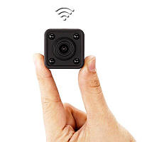 WiFi мини камера SH09 Square, HD 720P, 3,5 часа роботы, встроенный магнит.