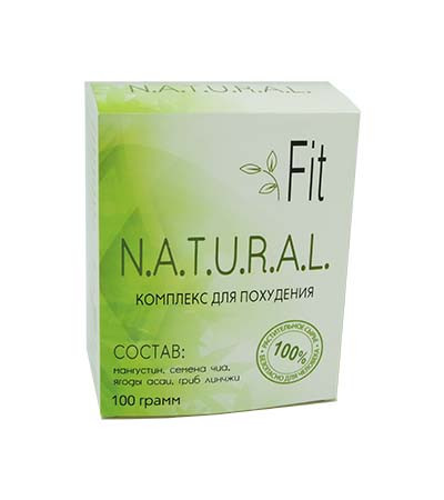 Natural Fit - комплекс для схуднення/блокатор калорій (Нейчерал Фіт)