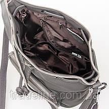 Сумка Женская Классическая кожа ALEX RAI 7-01 7110 grey, фото 3