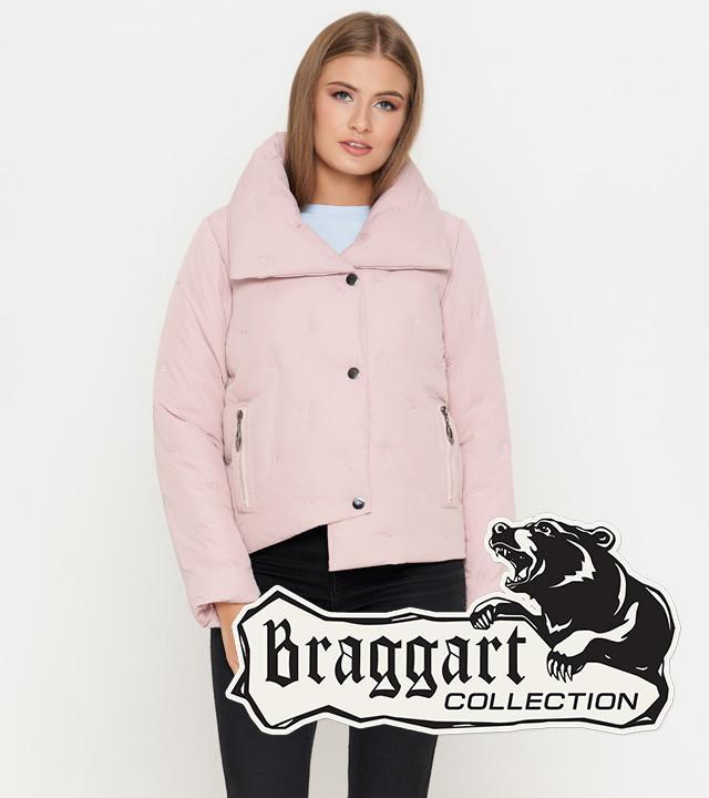 Braggart Youth | Осенне-весенняя женская куртка 25062 пудра
