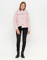 Braggart Youth | Осенне-весенняя женская куртка 25062 пудра, фото 2