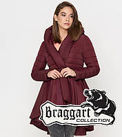 Braggart Youth | Женская куртка весенне-осенняя 25755 бордовая