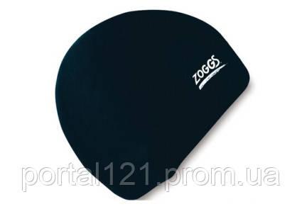 Шапочка для плавання дитячий/підлітковий Zoggs Junior Silicone Cap чорна