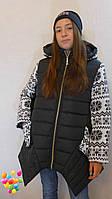 Стильные зимние куртки и пуховики для девочек подростков
