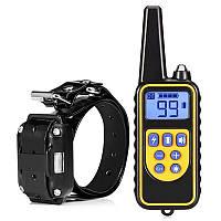 Электроошейник для дрессировки собак Pet DTC-800, водонепроницаемый