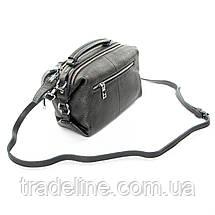 Сумка Женская Классическая кожа ALEX RAI 7-01 8762-9 silver-grey, фото 2