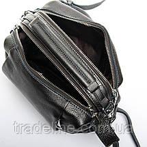 Сумка Женская Классическая кожа ALEX RAI 7-01 8762-9 silver-grey, фото 3