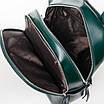 PODIUM Сумка Женская Рюкзак кожа ALEX RAI 7-02 337 green, фото 4