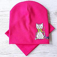 Детские шапки трикотаж