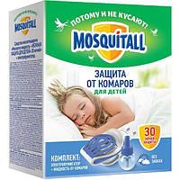 """Фумигатор """"Нежная защита для детей"""" + жидкость от комаров """"Mosquitall"""""""