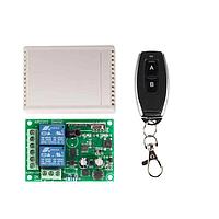 433МГц 2-х канальний бездротовий вимикач на 220В + Пульт