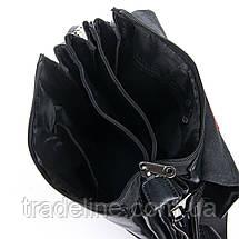 Сумка Чоловіча Планшет позов-шкіра DR. BOND GL 317-3 black, фото 3