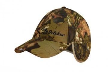 Зимняя кепка Delphin с встроенным LED фонариком