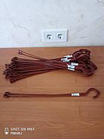 Подвеска для вазона 46 см коричневая