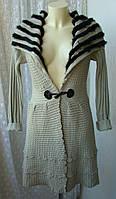 Кардиган женский модный теплый бренд Storybook knits р.42 3687