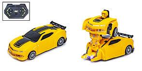 Машинка-трансформер на радіокеруванні Жовтий (0823B)