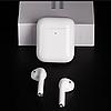 Бездротові навушники Bluetooth 5.0 Apple AirPods 2 гарнітура з кейсом для зарядки, фото 7