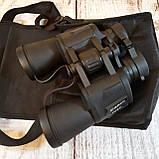 Бинокль водонепроницаемый CANON 20х50 | Бинокуляр, увеличение х20, с чехлом, Зеленый, фото 7