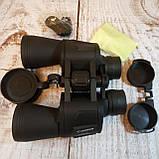 Бинокль водонепроницаемый CANON 20х50 | Бинокуляр, увеличение х20, с чехлом, Зеленый, фото 8
