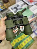 Бинокль водонепроницаемый CANON 20х50 | Бинокуляр, увеличение х20, с чехлом, Зеленый, фото 2