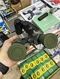 Бинокль водонепроницаемый CANON 20х50 | Бинокуляр, увеличение х20, с чехлом, Зеленый, фото 3