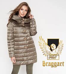 Воздуховик Braggart Angel's Fluff 35120 | Осенне-весенняя куртка капучино
