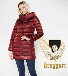 Воздуховик Braggart Angel's Fluff 35120 | Куртка осенне-весенняя карминовая