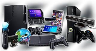 Ігрові приставки та комплектуючі
