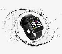 Смарт-часы Smart QW21 IP67 с тонометром Черные Black