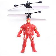 Игрушка Индукционная Летающая Супер Герой Heroes 2 Avengers Железный Человек Iron Man LED Марвел Marvel