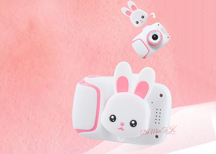 20Мп Дитячий цифровий міні фотоапарат Cartoon Camera X11 Зайчик Rabbit 20Мп