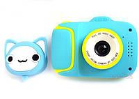 40М Детский цифровой мини фотоаппарат Cartoon Camera X11 Котик Kitty