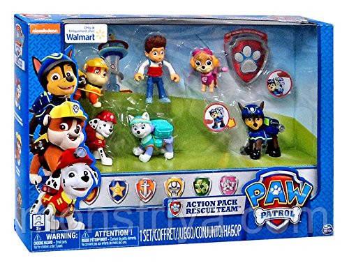 Набор игрушек Щенячий патруль Скай Эверест Крепыш Маршал Чейз и Райдер  Paw Patrol