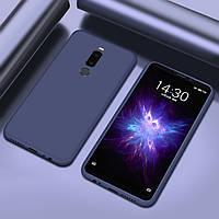 Чехол Style для Meizu M8 Бампер силиконовый Синий