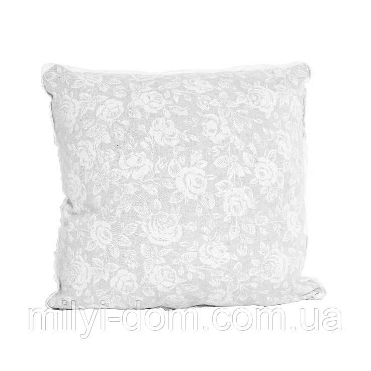 Наволочка на молнии White rose  40*40 см - Милый ДОМ в Одессе