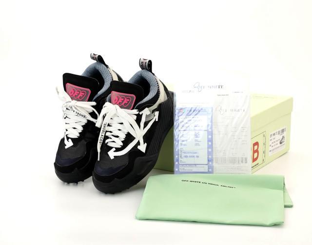 Женские кроссовки Off-White ODSY-1000 Virgil Abloh черные фото