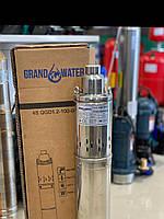 Насос скважинный шнековый GRANDWATER 4S QGD1.2-100-0,75 кВт (Польша)