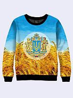 Мужской свитер Герб и пшеница