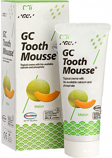 Крем для зубiв GC Tooth Mousse Melon 35 мл  Диня