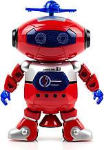 Танцующий светящийся робот Dancing Robot музыкальная игрушка