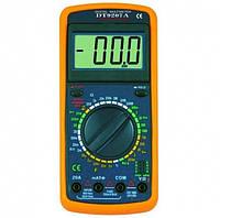 Мультиметр DT 9207A цифровой тестер вольтметр
