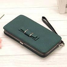 Женский кошелек BAELLERRY Pidanlu Style (зеленый)