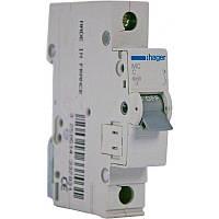 Автоматический выключатель HAGER 1п, 6А, C, 6kA