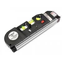 Лазерный уровень со встроенной рулеткой Laser Level Pro 3, фото 1