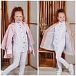 Пальто-пиджак детское демисезонное для девочки Шарлотта|  размеры на рост 122, 128, 134, 140р., фото 5